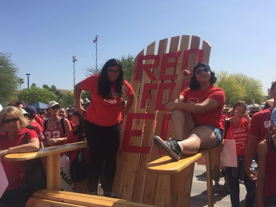 #RedForEd day 3 at the Arizona Capitol
