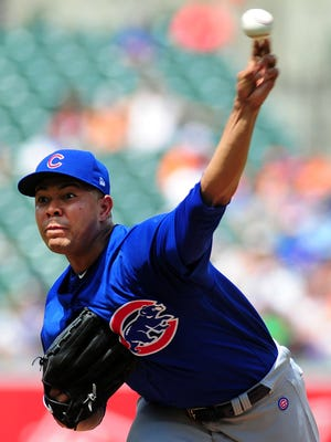 Jose Quintana made his Chicago Cubs debut in a 8-0 win over the Baltimore Orioles.