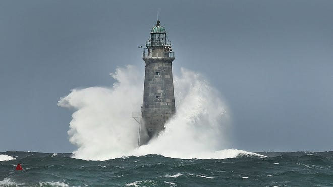 Former lightkeepers who died in a fierce storm are said to haunt Minot's Ledge Light, off the coast of Scituate and Cohasset.