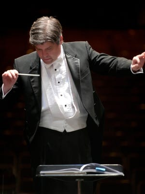 """Canadian music director Michael Hall will guest conduct the Space Coast Symphony Orchestra and four soloists in the Jan. 6 concert of the """"Best of Broadway."""""""