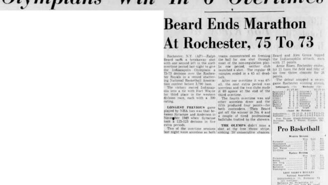From the Jan. 7, 1951, Indianapolis Star.