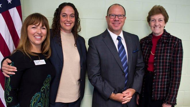 Monique Walker, Michelle Malyn, Jeff Pickering and Ann Decker