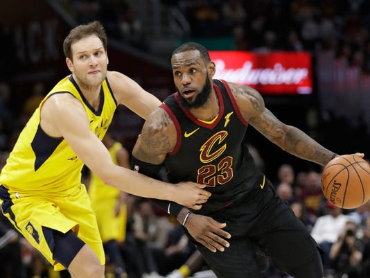 Bojan Bogdanovic, LeBron James