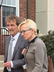 Molly Shattuck outside Sussex County Superior Court
