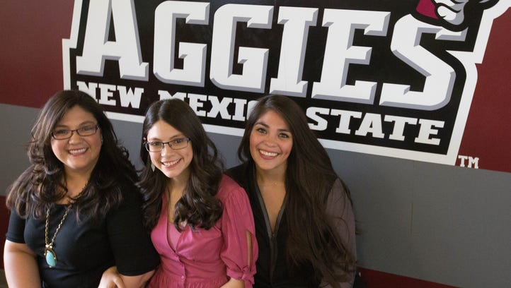 3 sisters earn 3 degrees in commencement ceremonies at NMSU