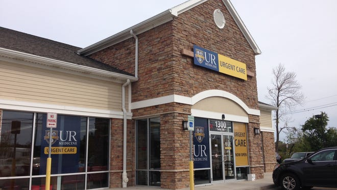 UR Medicine opened this urgent care center on Jefferson Road in Henrietta and also opened one in Pittsford Colony.
