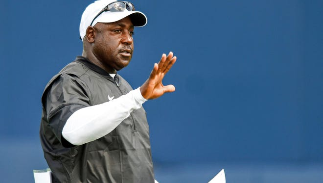 Ole Miss defensive coordinator Wesley McGriff prepares to face his former program, Auburn, this weekend.