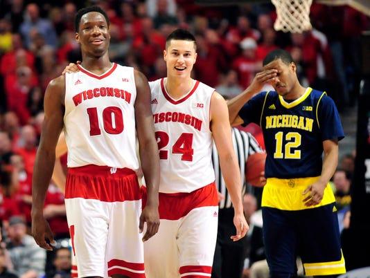 NCAA Basketball: Big Ten Conference Tournament-Michigan vs Wisconsin