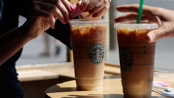 """An Illinois woman has filed suit against Starbucks, claiming that the coffee chain is """"underfilling"""" its cold beverages, duping customers and serving drinks that contain less coffee than advertised."""