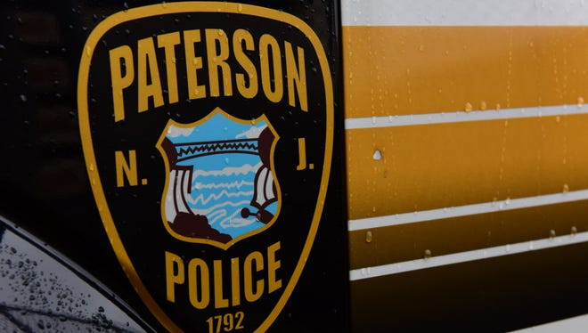 Paterson police logo on vehicle