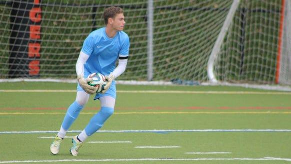 Edgemont senior goalkeeper Eliot Hamill is a 2017 #lohudsoccer