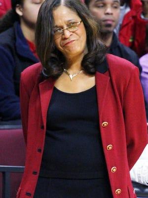 Rutgers coach C. Vivian Stringer (file)