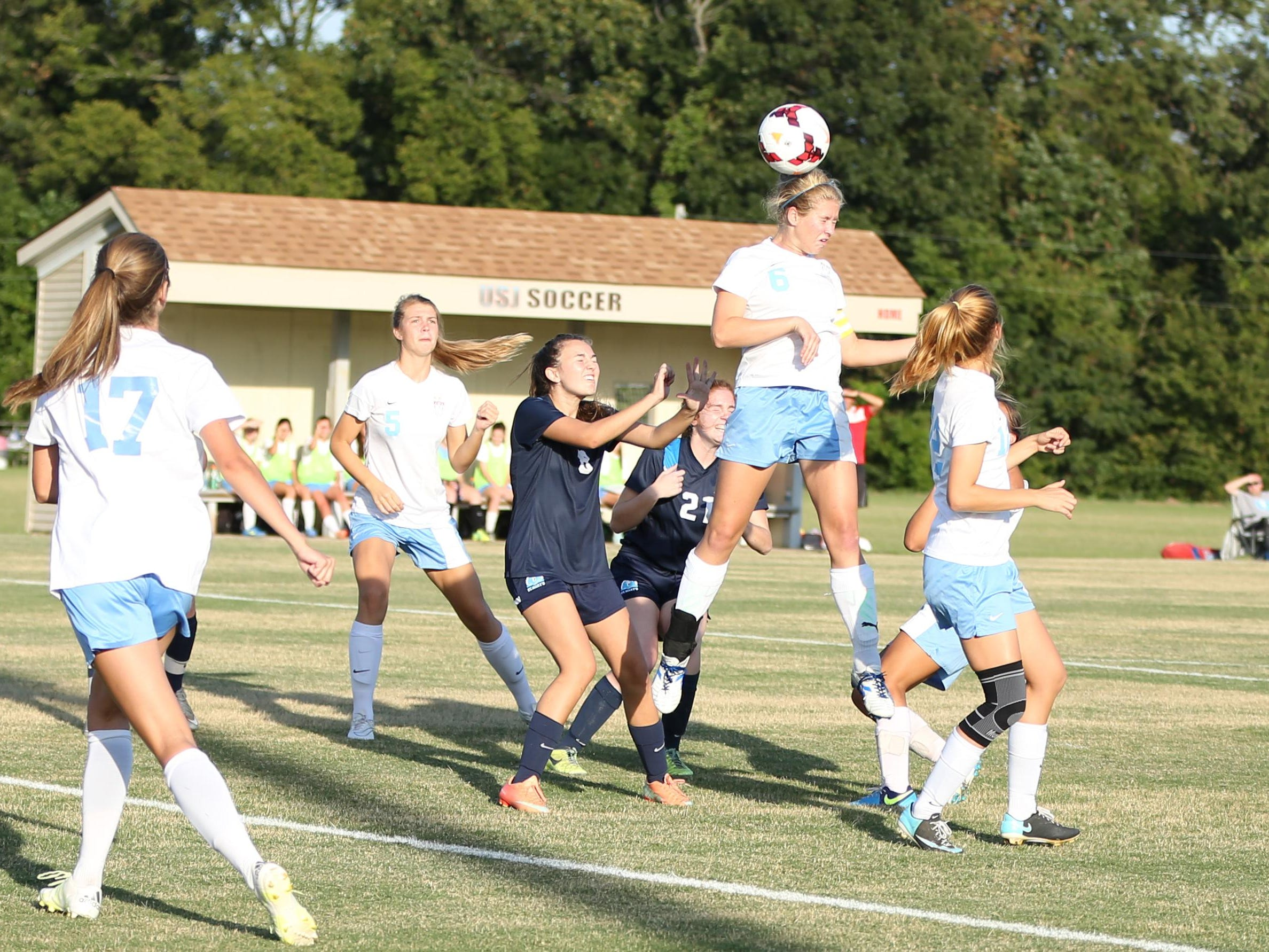 USJ's Addison Dunn is looking to end career with second state championship.