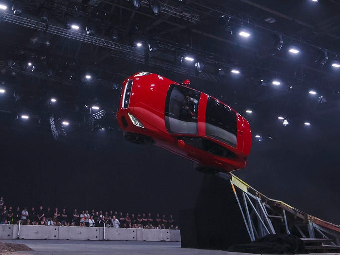 Jaguar introduced its new compact SUV, the E-PACE,