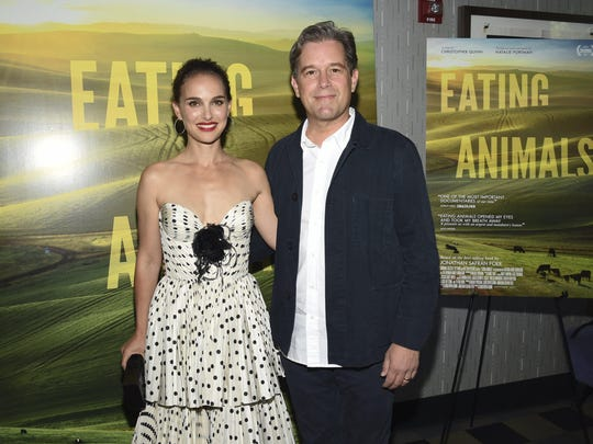 Producer Natalie Portman and producer/director Christopher