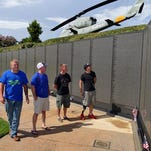 Last year, wounded and injured veterans and active duty military members visited The Wall South Vietnam war memorial located in the Veterans Memorial Park.  The tour was part of the 2015 AHERO event in Pensacola.