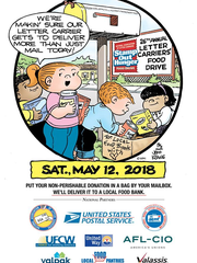 26th Annual Letter Carriers' Food Drive