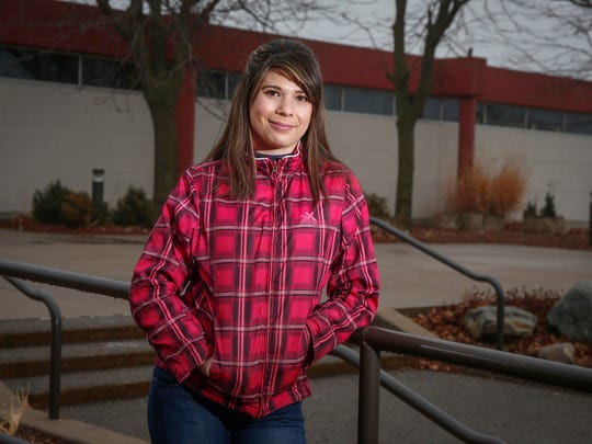 Once a victim of abuse, Malayia Knapp, 18, now hopes
