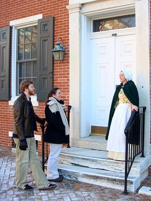 Join interpreters in historic clothing to learn of the stories of Dover that The Green will reveal.