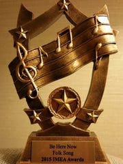 """Kristen Grainger won a 2015 IMEA Award for Folk Song of the Year for her tune """"Be Here Now."""""""