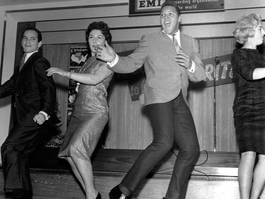 Chubby Checker, the 20-year-old Philadelphia entertainer