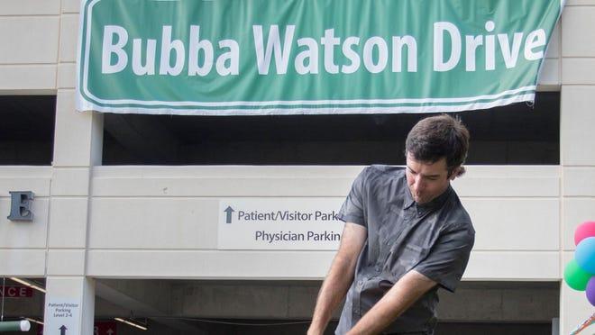 pensacola s bubba watson has followed the model detroit s dan gilbert put in place pensacola s bubba watson has followed