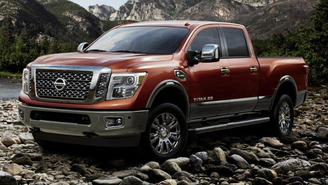 In its redesign for 2016, Nissan tried to make its new Titan extra tough looking.