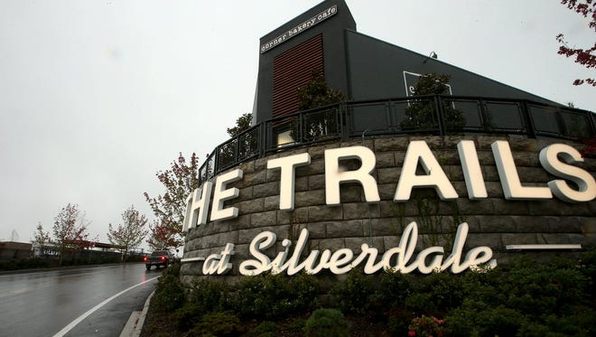 A Marshalls will open at The Trails at Silverdale by the end of May.
