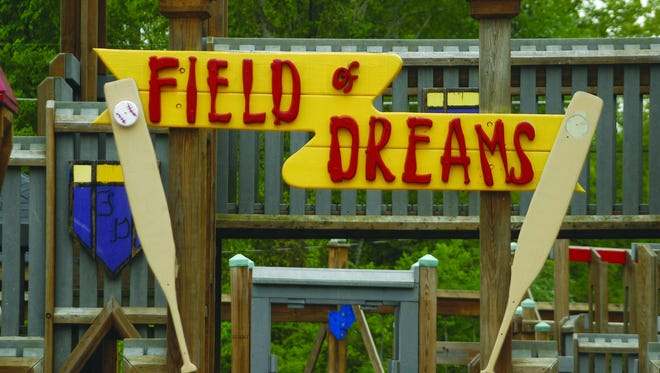 The Field of Dreams playground in White Bluff.