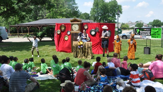 The annual Puppets for Lunch event is popular with moms and youngsters and has become an annual tradition at The Grove. This year's event will be Friday, June 9.