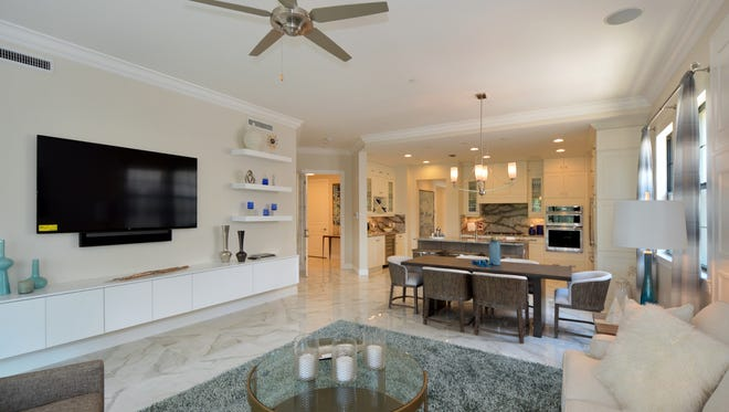 """Priced starting in the $600s, Viansa offers the simplicity and convenience of """"lock-and-leave,"""" maintenance-free terrace home living along with the luxurious ambiance of Talis Park."""