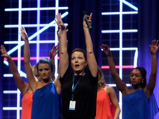 Miss Louisiana Rehearsal
