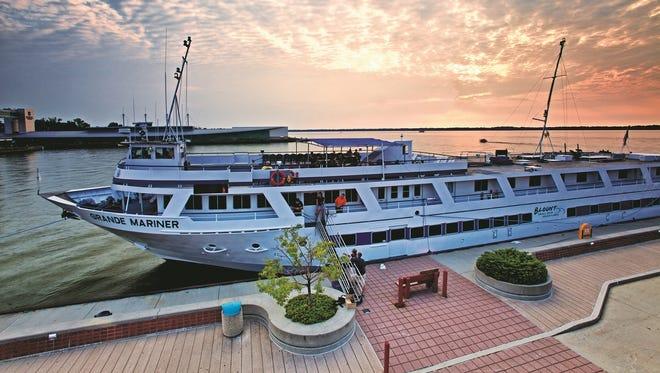 Small ship cruise line Blount's 88-passenger Grande Mariner.