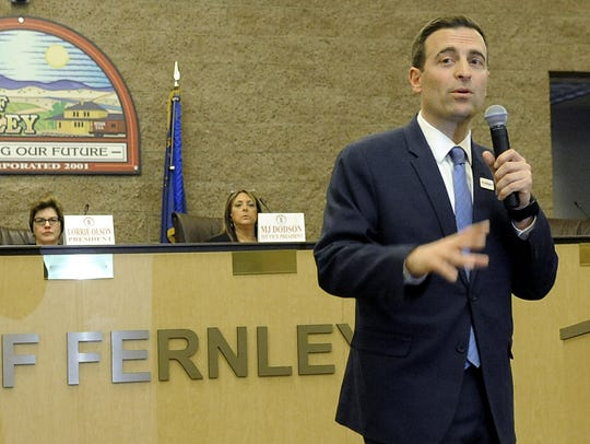 Nevada Attorney General Adam Laxalt, who is running