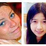 Krystle Campbell, from left, Lu Lingzi and Martin Richard were killed in the bombings near the finish line of the Boston Marathon on April 15, 2013.