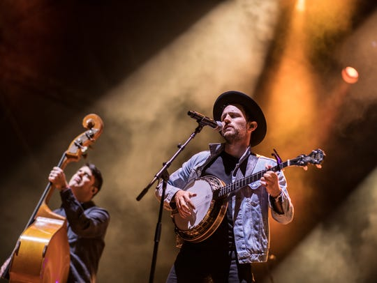 The Avett Brothers perform at the inaugural Innings