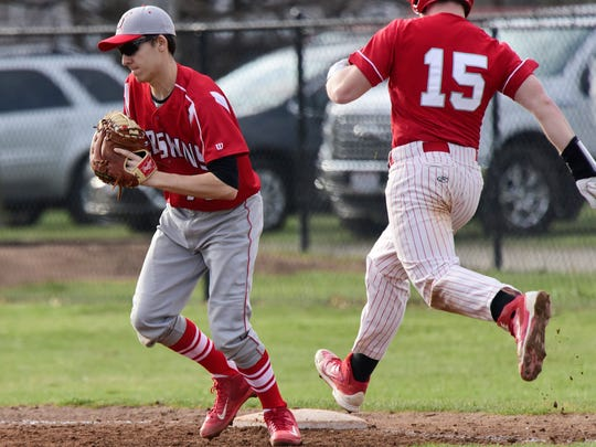 Port Clinton's Trevor Frias adds first base to his responsibilities this season.