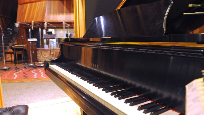 Ronnie Milsap's grand piano is housed inside Black River Sound Stage at 10 Music Circle S.