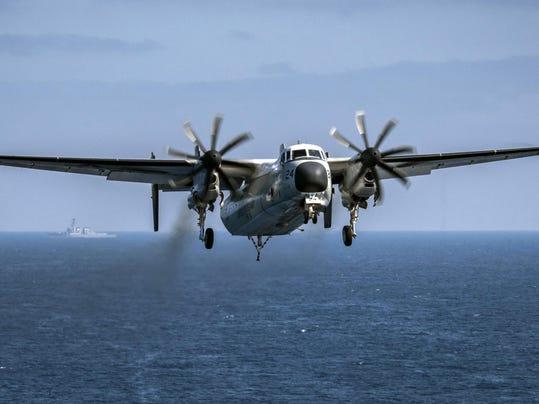 US Navy Aircraft Crash