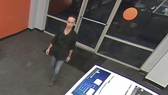 The Natchitoches Police Department is seeking the public's help in finding a suspect who stole products from the AT&T Store.