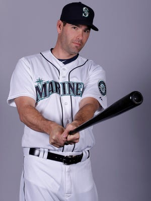 Seth Smith of the Seattle Mariners baseball team. The trade to bring Seth Smith to Seattle was the final major piece of the Mariners offseason, even if he'll be sharing time in right field.