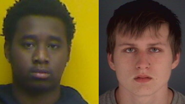 Maurice Mururi Muniu, 17, and Elvis Sijamhodzic, 18,