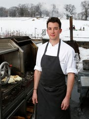 Bastien Guillochon, a stage chef, is getting ready to return to France after a year at Stone Barns in Pocantico Hills.