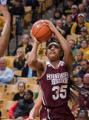 Mississippi State's Victoria Vivians was named to the Wooden Award's top 20 midseason watchlist on Friday.