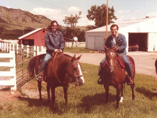 Patricia Dongo Soria, left, of Peru, visited Montana