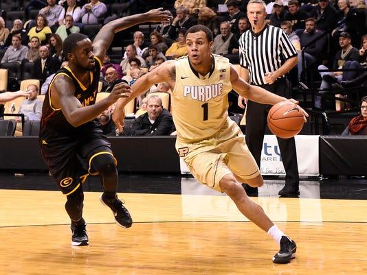 NCAA Basketball: Grambling State at Purdue