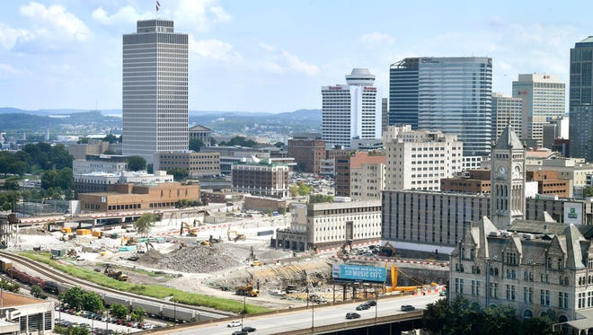 Investors may look to buy homes near Nashville Yards, the future home of Amazon's operations center.