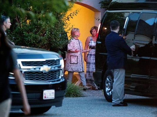 Hillary Clinton, Marcia Riklis AP