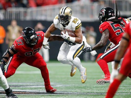 USP NFL: NEW ORLEANS SAINTS AT ATLANTA FALCONS S FBN ATL NO USA GA