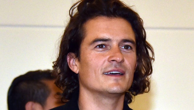 British actor Orlando Bloom was one of the people in the anti-smoking ad.